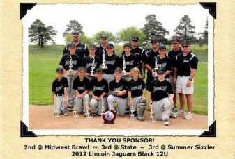 Youth baseball team
