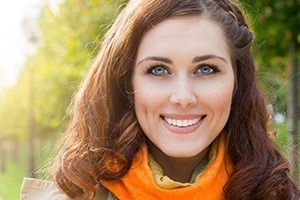 Young woman with picture-perfect smile