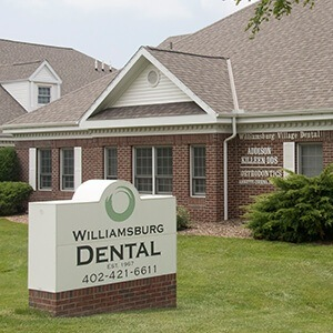Exterior view Village Drive Dental office building
