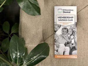 A membership plan pamphlet.