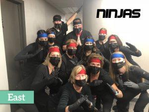 East location dentists dressed as ninjas,